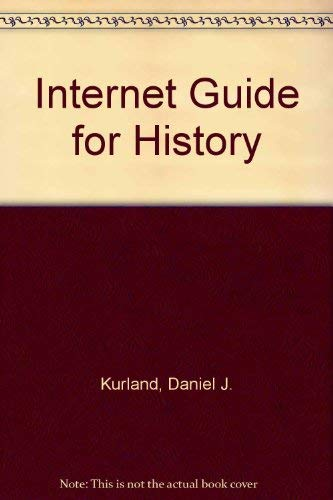 9780534545857: Internet Guide for History