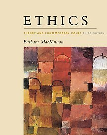 9780534546328: Ethics: Theory and Contemporary Issues, 3rd edition.