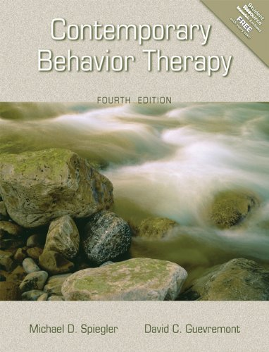9780534546519: Contemporary Behavior Therapy