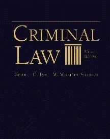 9780534546847: Criminal Law
