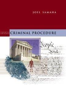 9780534547110: Criminal Procedure