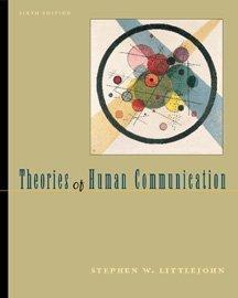 9780534548193: Theories of Human Communication
