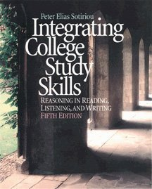 9780534549909: Integrating College Study Skills: Reasoning in Reading, Listening, and Writing