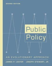 9780534550080: Public Policy: An Evolutionary Approach