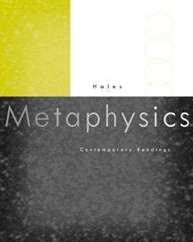 9780534551452: Metaphysics: Contemporary Readings