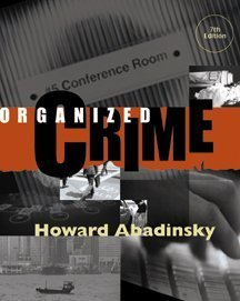 9780534551582: Organized Crime