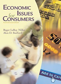 9780534552367: Economic Issues for Consumers