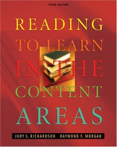 9780534553098: Reading to Learn in the Content Areas (with InfoTrac and CD-ROM)