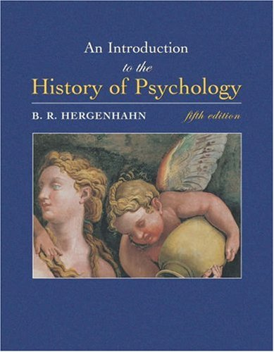 9780534554019: An Introduction to the History of Psychology (with InfoTrac)