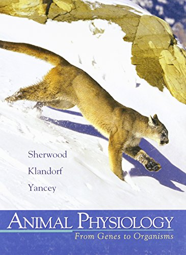 9780534554040: Animal Physiology: From Genes to Organisms