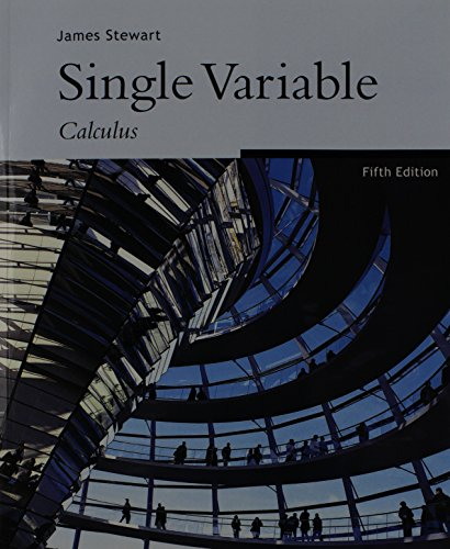9780534555382: Single Variable Calculus