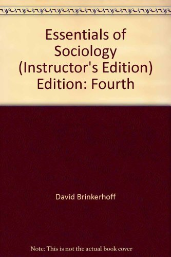 9780534555498: Essentials of Sociology