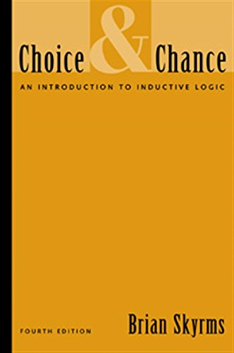 9780534557379: Choice and Chance: An Introduction to Inductive Logic