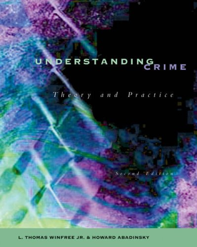 9780534557492: Crime Theory (High School/Retail Version)