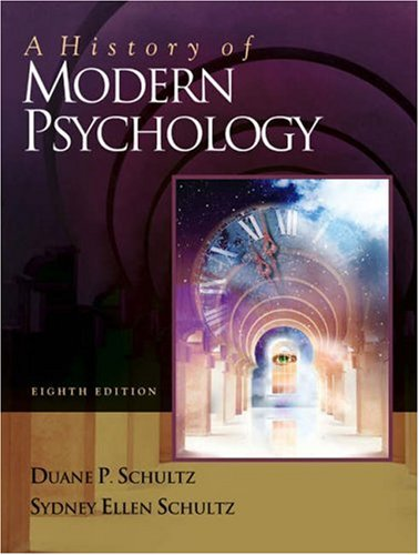9780534557751: A History of Modern Psychology (with InfoTrac )