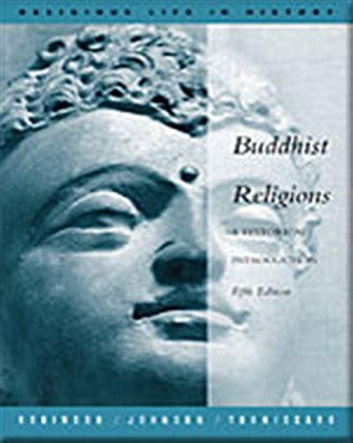 9780534558581: Buddhist Religion: A Historical Introduction