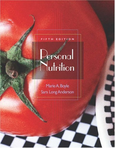 9780534558673: Personal Nutrition (with CD-ROM and InfoTrac) (Available Titles CengageNOW)