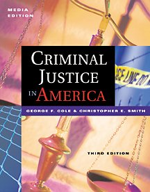 9780534559014: Criminal Justice in America: Media Edition (with InfoTrac)