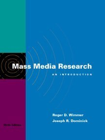 9780534560072: Mass Media Research: An Introduction