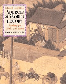 9780534560355: Sources of World History, Volume II: Readings for World Civilization