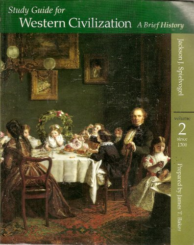 9780534560775: 2: Study Guide for Western Civilization: A Brief History, Volume II