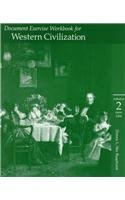 9780534560843: Document Exercise Workbook for Western Civilization (Volume 2, since 1300)