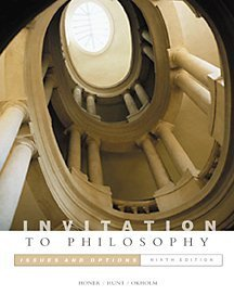9780534561376: Invitation to Philosophy: Issues and Options