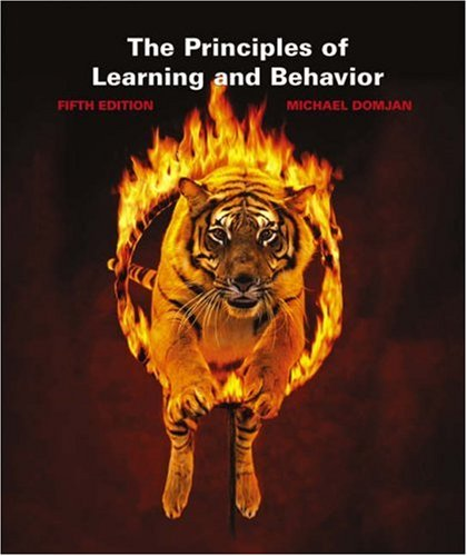 9780534561567: The Principles of Learning and Behavior