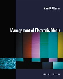 9780534561918: Management of Electronic Media (with InfoTrac)