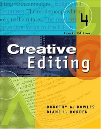 9780534562168: Creative Editing (with InfoTrac) (Wadsworth Series in Mass Communication and Journalism)