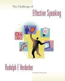 9780534562502: Challenge of Effective Speaking