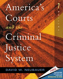 9780534563479: America's Courts and The Criminal Justice System (with CD-ROM, High School/Retail Version)