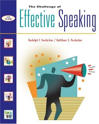 9780534563851: The Challenge of Effective Speaking (with InfoTrac and CD-ROM) (OECD Proceedings)
