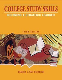 9780534563943: College Study Skills: Becoming a Strategic Learner