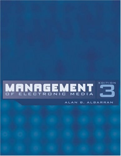 9780534563998: Management of Electronic Media (with InfoTrac) (Wadsworth Series in Broadcast and Production)