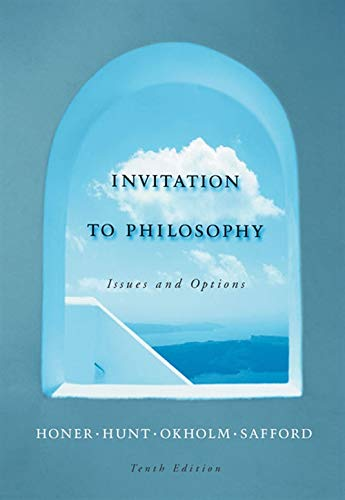 9780534564605: Invitation to Philosophy: Issues and Options