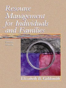 Resource Management for Individuals and Families (Health Science)
