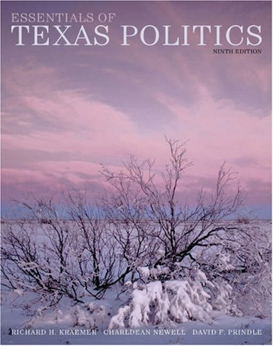 9780534564995: Essentials of Texas Politics