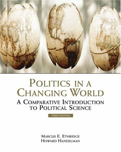 9780534566333: Politics in a Changing World: A Comparative Introduction to Political Science (with InfoTrac)
