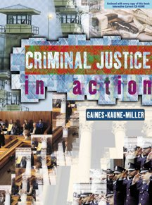 9780534568283: Criminal Justice in Action (without Careers in CJ Interactive CD-ROM)