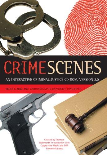 9780534568313: Crime Scenes 2.0: Interactive Criminal Justice CD-ROM, Macintosh/Windows