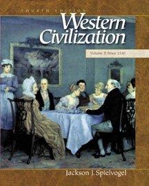 9780534568375: Western Civilization: Volume II: Since 1550