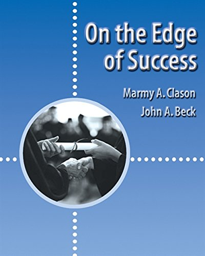 9780534569730: On the Edge of Success (Wadsworth College Success)