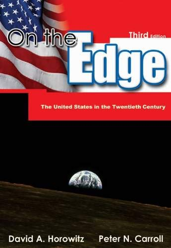 9780534571863: On the Edge: The United States in the Twentieth Century