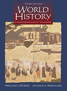 World History, Comprehensive Edition (Non-InfoTrac Version) (9780534571917) by William J. Duiker; Jackson J. Spielvogel