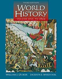 World History to 1800, Volume I (Non-InfoTrac: William J. Duiker,