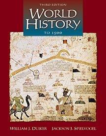 9780534571948: World History to 1500 (Non-InfoTrac Version)