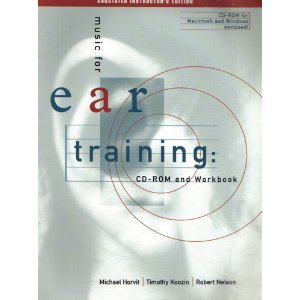 9780534572686: Music for Ear Training: CD-Rom and Workbook