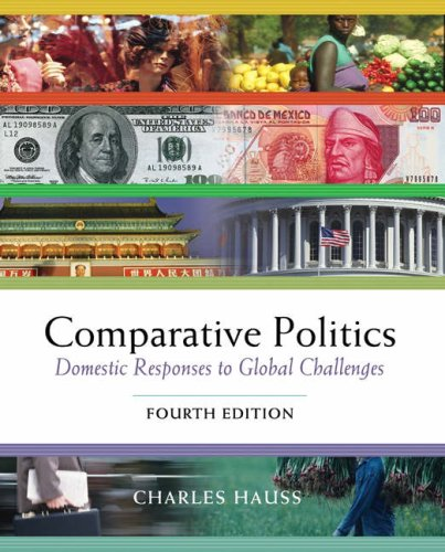 9780534572877: Comparative Politics: Domestic Responses to Global Challenges (Non-InfoTrac Version with CD-ROM)