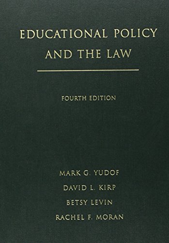 9780534573751: Educational Policy and the Law